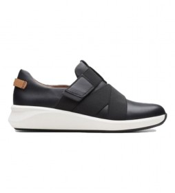 Zapatillas de piel Un Rio Strap negro
