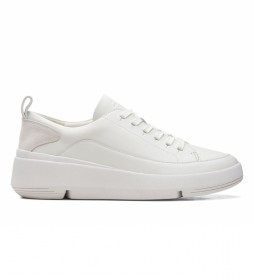 Zapatillas de piel Tri Flash Lace blanco
