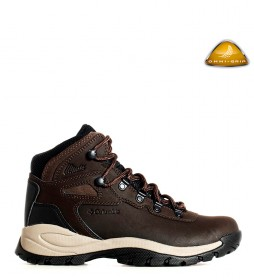 Columbia Botas de piel Newton Ridge Plus marrón