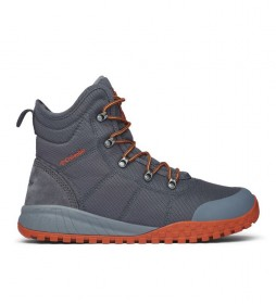 Columbia Fairbanks Omni-Heat gray boots