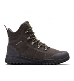 Columbia Fairbanks Omni-Heat black boots