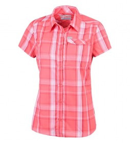 Columbia Silver Ridge 2.0 coral shirt
