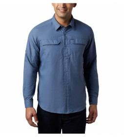 Camisa Silver Ridge2.0 Long Sleeve azul