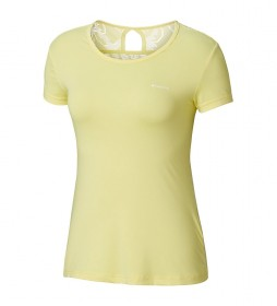 Columbia Peak to Point yellow t-shirt