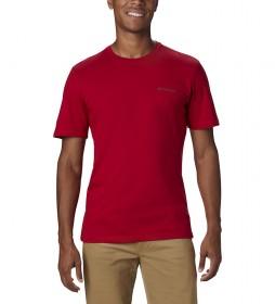 Camiseta Rapid Ridge Back Graphic rojo