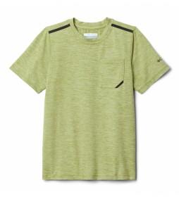 Camiseta Tech Trek Manga Corta verde