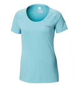 Columbia T-shirt Titan Trail blue