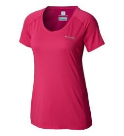 Columbia T-shirt Titan Trail garnet