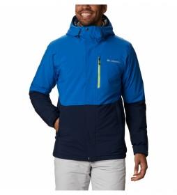 Chaqueta de esquí Winter District azul