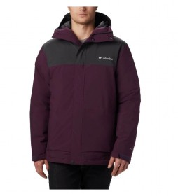 Columbia Insulated jacket Horizon Explorer purple, grey