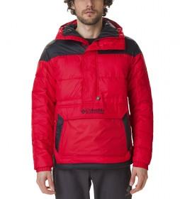 Chaqueta Lodge Pullover rojo /Thermarator/