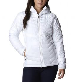 Chaqueta Powder Lite Hooded blanco /Omni-Heat?/