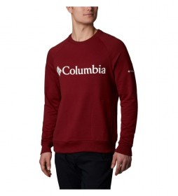 Columbia Sweatshirt Columbia Lodge M Crew burgundy