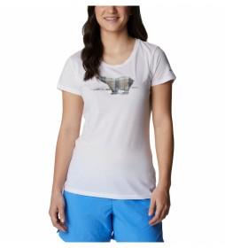 Camiseta Daisy Days SS Graphic blanco