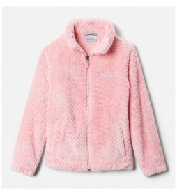 Chaqueta Polar Fire Side Sherpa Full Zip rosa