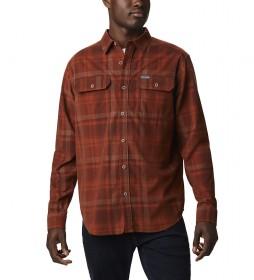 Camisa de Pana Flare Gun marrón