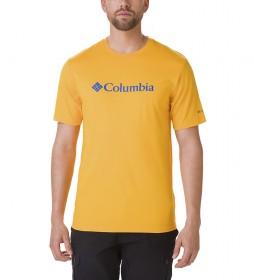 Columbia Camiseta CSC Basic Logo amarillo