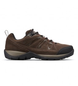 Columbia Redmond V2 Brown Waterproof Mountain Leather Shoes