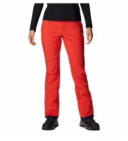 Pantalón de esquí Roffe Ridge III Pant rojo