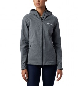 Columbia Softshell jacket Heather Canyon black marbled