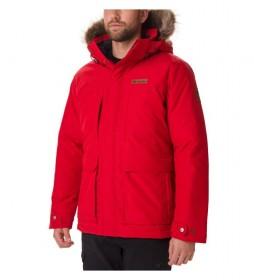 Chaqueta Marquam Peak rojo