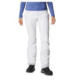 Pantalón de esquí Roffe Ridge III blanco