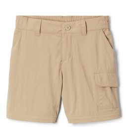 Pantalones convertibles Silver Ridge IV beige