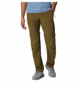 Pantalones convertibles Triple Canyon verde oliva