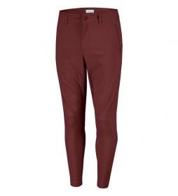 Columbia Pants West End garnet