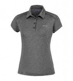 Columbia Firwood Camp polo shirt black