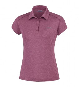 Columbia Firwood Camp Polo burgundy