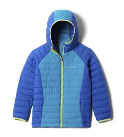 Chaqueta Powder Lite  Girls Hooded azul