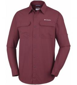 Columbia Silver Ridge II garnet shirt