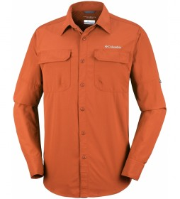Columbia Shirt Silver Ridge II orange