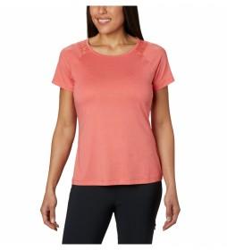 Camiseta Peak To Point coral