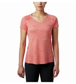 Camiseta Zero Rules coral