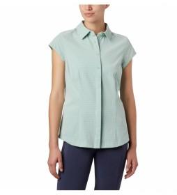 Camisa Saturday Trail II Stretch Print SS verde