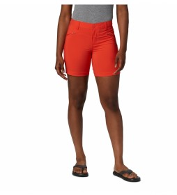 Shorts Peak to Point azul naranja