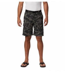 Shorts Silver Ridge camuflaje negro