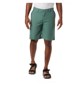 Shorts Washed Out verde