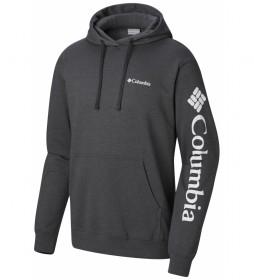 Columbia Sweatshirt Viewmont II Sleeve Graph dark grey