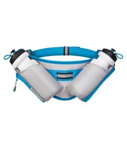 COLUMBUS Amanzi Hydration Belt 1 blue, grey -500 ml x 2 / 200g-