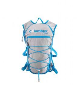 COLUMBUS Mochila Amanzi 10 azul, gris - 49x34x2,5 cm / 430g-