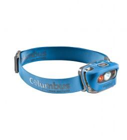 COLUMBUS CF3 blue headlamp / 165 lumens / 60g s.b / 95g c.b / IPX 5