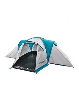 COLUMBUS Tent Como 6 gris, azul -13 Kg / 6pax-.
