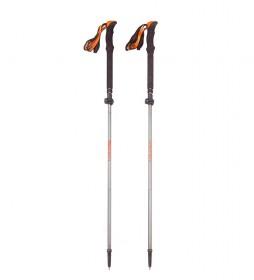 COLUMBUS FAT 04 folding stick grey, orange / 2 pcs / 105-135 cm / 260g