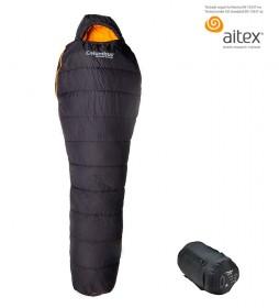 COLUMBUS Saco de dormir Fujo 780 negro / 1,400 Kg /230x80/50 cm / TªC 3.2ºC / TªL -2.2ºC / TªE -18.2ºC