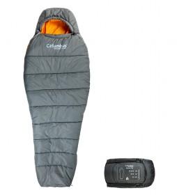 COLUMBUS Saco de dormir Hekla 750 gris / 1,3 Kg / 210x75/48 cm / TªC 2.8ºC / TªL -2.6ºC / TªE -18.9ºC