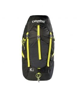 COLUMBUS Backpack K45 black / 45L / 1,400Kg / 57x29x22 cm