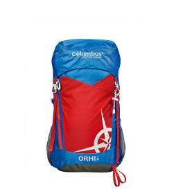 COLUMBUS Orhi backpack 35 blue, red / 35L / 1,250 Kg / 55x25x20 cm